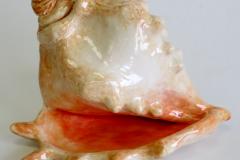 ceramic conch shell